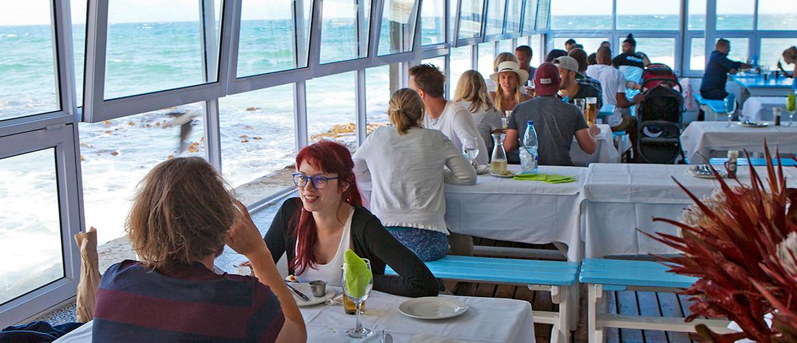 Waters edge restaurant